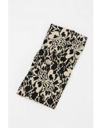 Urban Outfitters | Black Vivienne Lace Headwrap | Lyst