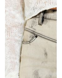 Urban Outfitters - Natural High Rise Seam Jean - Lyst