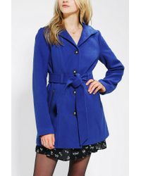 Urban Outfitters | Blue Jack By Bb Dakota Camelot Belted Jacket | Lyst