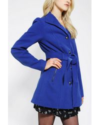 Urban Outfitters - Blue Jack By Bb Dakota Camelot Belted Jacket - Lyst