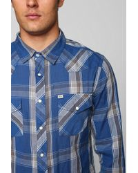 Urban Outfitters - Blue Salt Valley Pacific Western Shirt for Men - Lyst