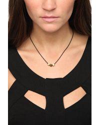Urban Outfitters - Metallic Gabriela Artigas Triple Squares Necklace - Lyst