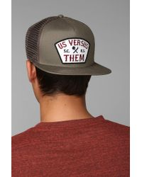 Urban Outfitters | Gray Nomad Patch Trucker Hat for Men | Lyst