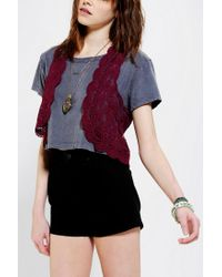 Urban Outfitters | Purple Kimchi Blue Lace Vest | Lyst