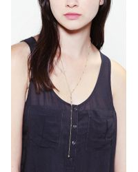 Urban Outfitters | Metallic Vanessa Mooney My Melody Rosary Necklace | Lyst