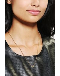 Urban Outfitters - Metallic Superman Necklace - Lyst