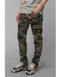 Standard Cloth | Green Super Skinny Camo Pant for Men | Lyst