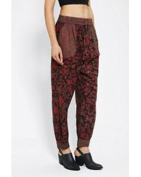 Urban Outfitters - Red Staring At Stars Heroine Harem Pant - Lyst