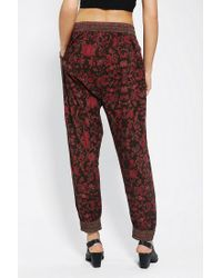 Urban Outfitters | Red Staring At Stars Heroine Harem Pant | Lyst