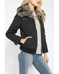 Urban Outfitters   Gray Spiewak Madison Flight Jacket   Lyst