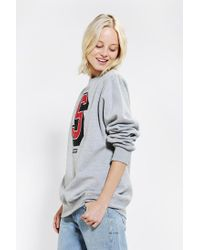 Urban Outfitters - Gray Stussy Super S Sweatshirt - Lyst