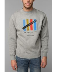 Urban Outfitters - Gray Undefeated Tsbsu Pullover Sweatshirt for Men - Lyst