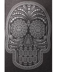 Urban Outfitters - Gray Obey Dia De Los Muertos Tee for Men - Lyst