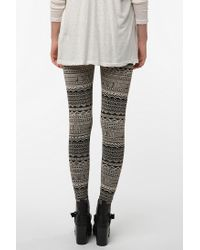 Urban Outfitters | Gray Bdg Abstract Leggings | Lyst