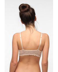 Urban Outfitters - Natural Valencia Halter Bra - Lyst