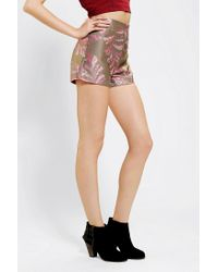 Urban Outfitters - Brown Urban Renewal Tapestry Short - Lyst