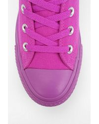 Urban Outfitters - Purple Tonal Hightop Flatform Sneaker - Lyst