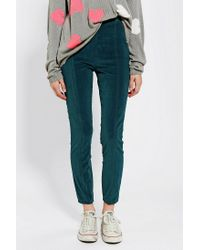 Urban Outfitters - Kimchi Blue Velvet Pin Up Pant - Lyst