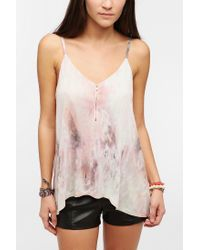Urban Outfitters | Natural Silence Noise Zip Cami | Lyst