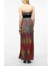 Urban Outfitters - Multicolor Gipsy Junkies Strapless Maxi Dress - Lyst
