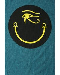 Urban Outfitters | Green Smiley Tee | Lyst