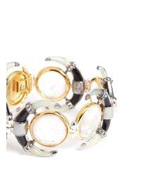 Eddie Borgo - Metallic Moon Bracelet - Lyst