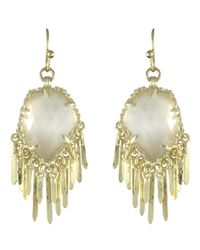 Kendra Scott   Metallic Brandi Earrings   Lyst