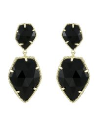 Kendra Scott | Black Selma Earrings | Lyst