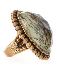 Stephen Dweck - Multicolor Oval Rock Crystalabalone Ring - Lyst