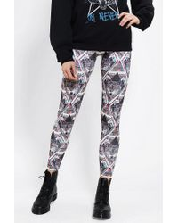 Urban Outfitters - Black Sparkle Fade Into The Wild Legging - Lyst