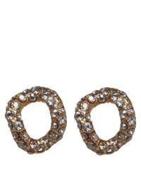 Alexis Bittar | Metallic Goldplated Jardin De Papillon Chain Link Stud Earrings | Lyst