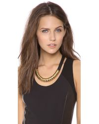 Holst + Lee - Black Holst Lee Classic Short Necklace - Lyst