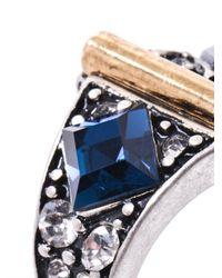 Lulu Frost - Metallic Stardust Ring - Lyst