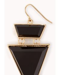 Forever 21 - Black Dagger Drop Earrings - Lyst