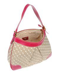 Gherardini - Pink Large Fabric Bag - Lyst