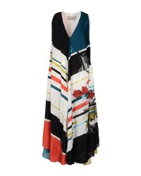 Paul Smith - White Multicoloured Maxi Dress - Lyst
