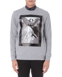 Givenchy | Gray Riccardo Sweatshirt for Men | Lyst