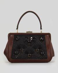 kate spade new york | Brown Cricket Street Small Emilia Embellished Handbag | Lyst