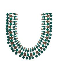 Weekend by Maxmara | Green Necklace | Lyst