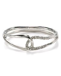 Alexis Bittar | Metallic Liquid Rhodium Collection Interlocked Bracelet | Lyst