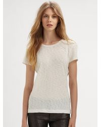 Rag & Bone | Blue The Classic Tee | Lyst
