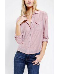 Urban Outfitters | Red Bdg Sebastian Buttondown Shirt | Lyst