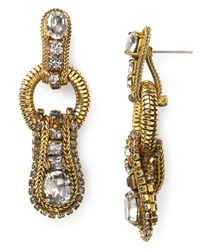 Aerin Erickson Beamon | Metallic Small Loop Drop Earrings | Lyst
