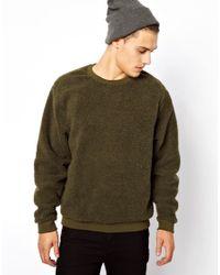 Native Youth - Green Cheap Monday Bear Sweatshirt for Men - Lyst