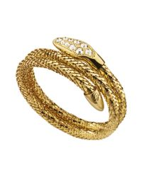 Guess | Metallic Serpent Coil Bracelet | Lyst