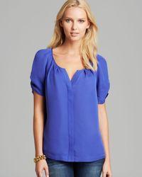 Joie - Blue Blouse Terabithia Silk - Lyst