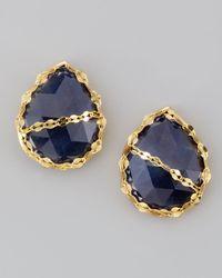 Lana Jewelry | Blue Sapphire Stud Earrings | Lyst