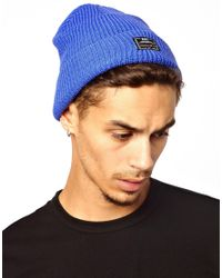 Nike - Blue Fisherman Beanie Hat for Men - Lyst