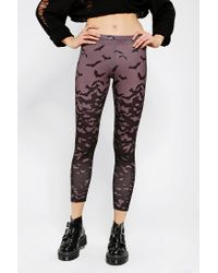Urban Outfitters - Gray Silence Noise Bat Flight Legging - Lyst