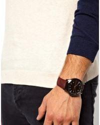 Kenneth Jay Lane | Purple Armani Exchange Watch Smart Suede Strap for Men | Lyst